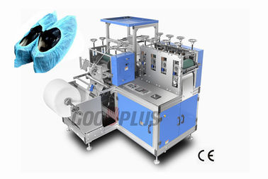 Medical Hospital Disposable Plastic Non Woven Shoe Cover Making Machine