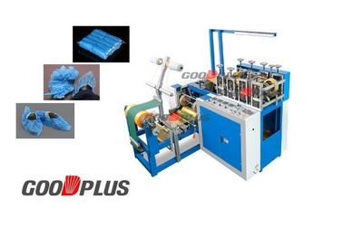 Easy Operation Fully Automatic HDPE Plastic Shoes Cover Aliminium Shaft Making Machine