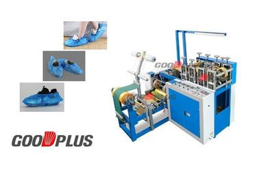 Fully Automatic High Output LDPE Plastic Shoes Cover Iron Shaft Making Machine